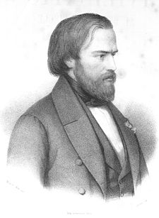 «Tel était Ozanam lorsqu'il entra dans ma chambre et s'assit près de mon feu pour le première fois. C'était dans l'hiver 1833-1834. Il devait avoir vingt ans» (Lacordaire)
